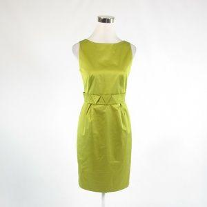 Paule Ka avocado green sheath dress IT40 6